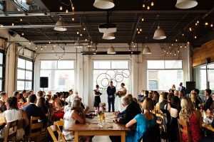Propeller Coffee Wedding Event