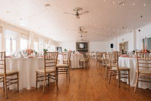 Wedding held at The Argonaut Rowing Club.